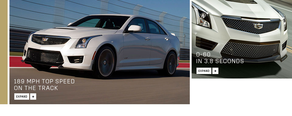 2019 Cadillac ATS V Sedan photo - 1