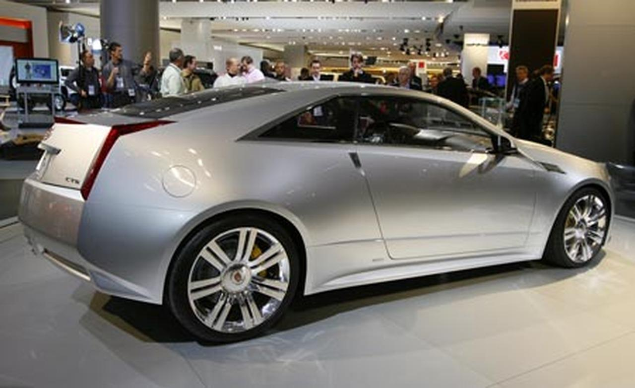 2019 Cadillac CTS Coupe Concept photo - 1
