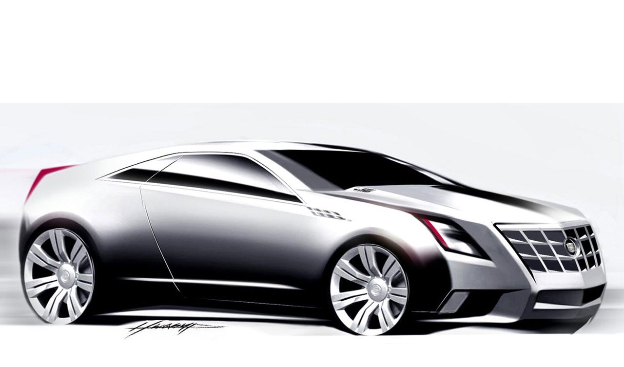 2019 Cadillac CTS Coupe Concept photo - 2