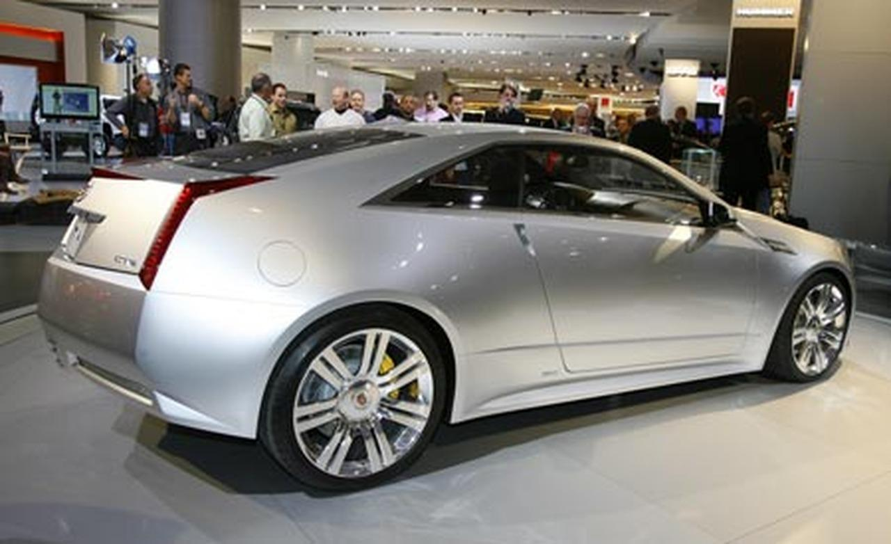 2019 Cadillac CTS Coupe Concept photo - 5