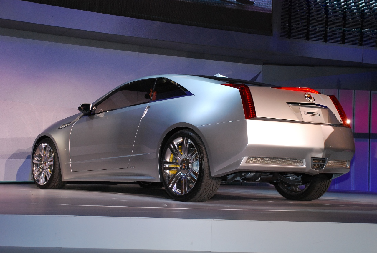 2019 Cadillac CTS Coupe Concept photo - 6