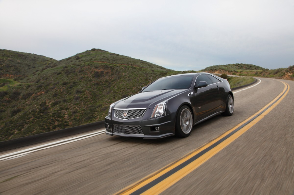 2019 Cadillac CTS V Coupe photo - 6