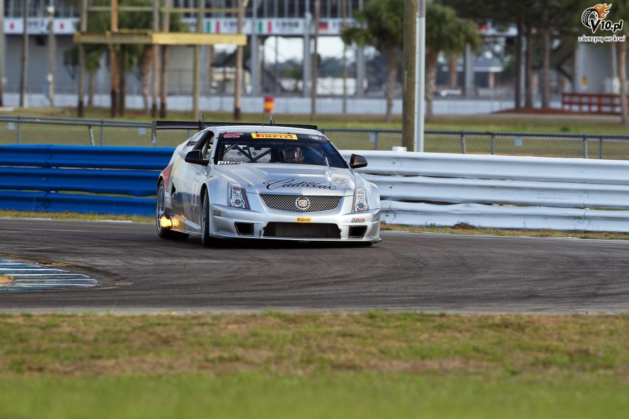 2019 Cadillac CTSV Race Car photo - 3