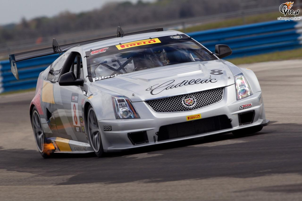 2019 Cadillac CTSV Race Car photo - 6