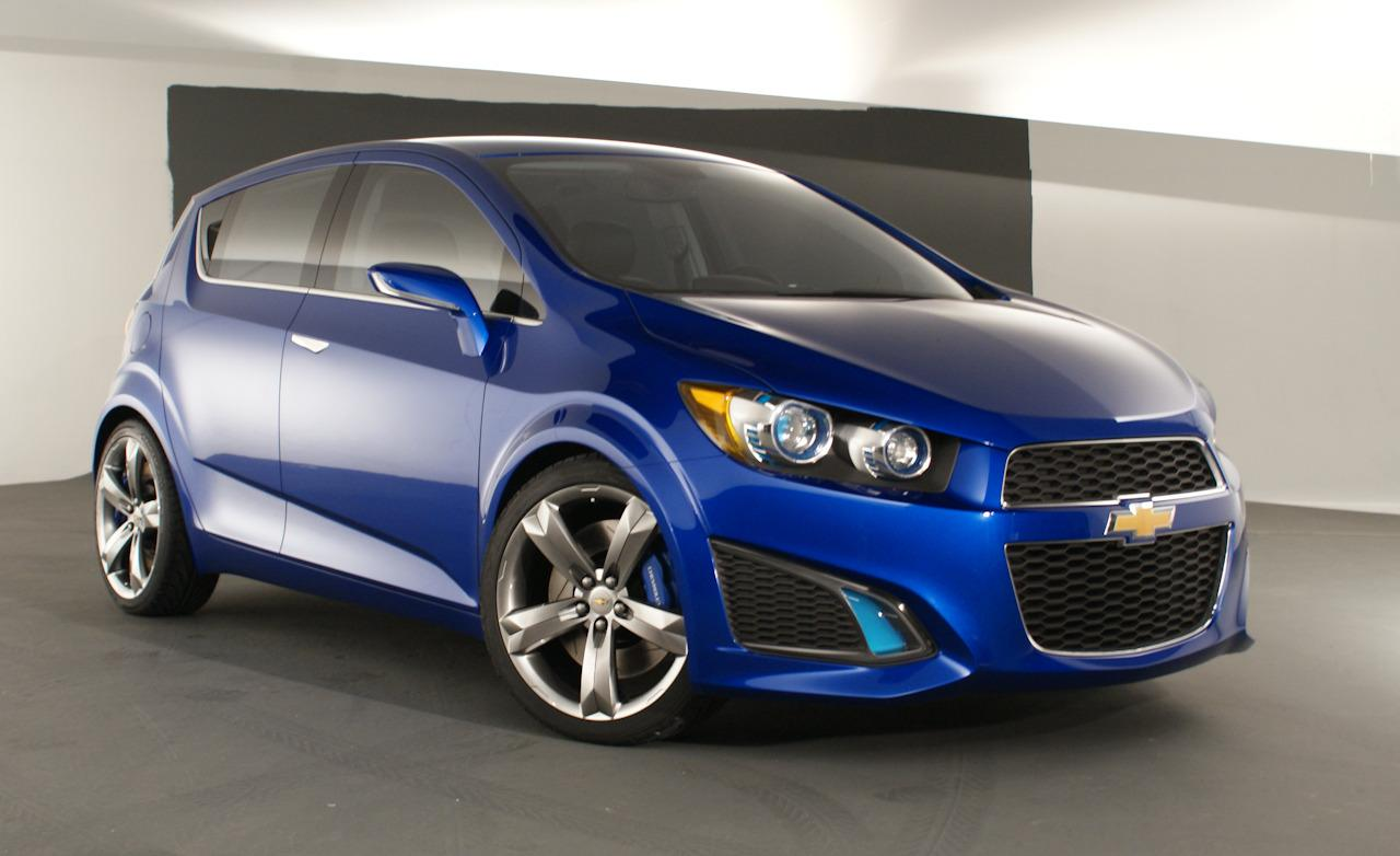 2019 Chevrolet Aveo RS Concept photo - 6