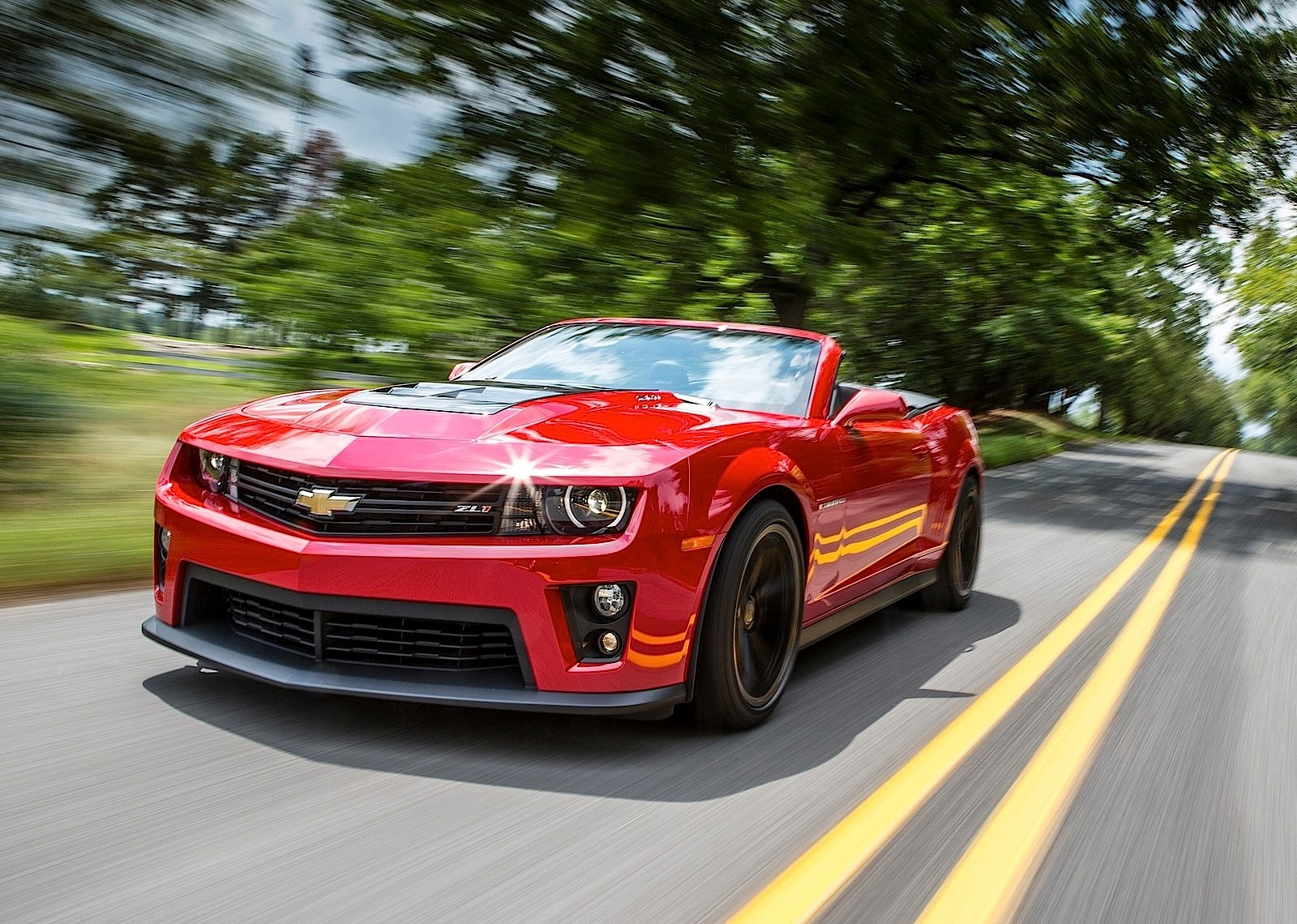 2019 Chevrolet Camaro ZL1 Convertible photo - 4