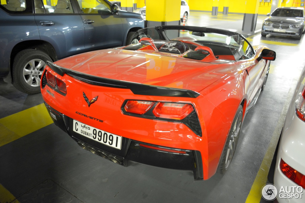 2019 Chevrolet Corvette C7 Stingray Convertible photo - 2