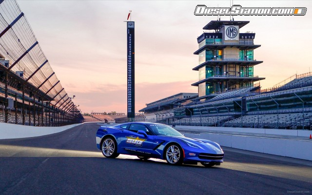 2019 Chevrolet Corvette Stingray Indy 500 Pace Car photo - 2
