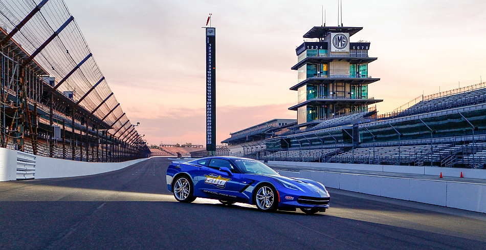 2019 Chevrolet Corvette Stingray Indy 500 Pace Car photo - 5