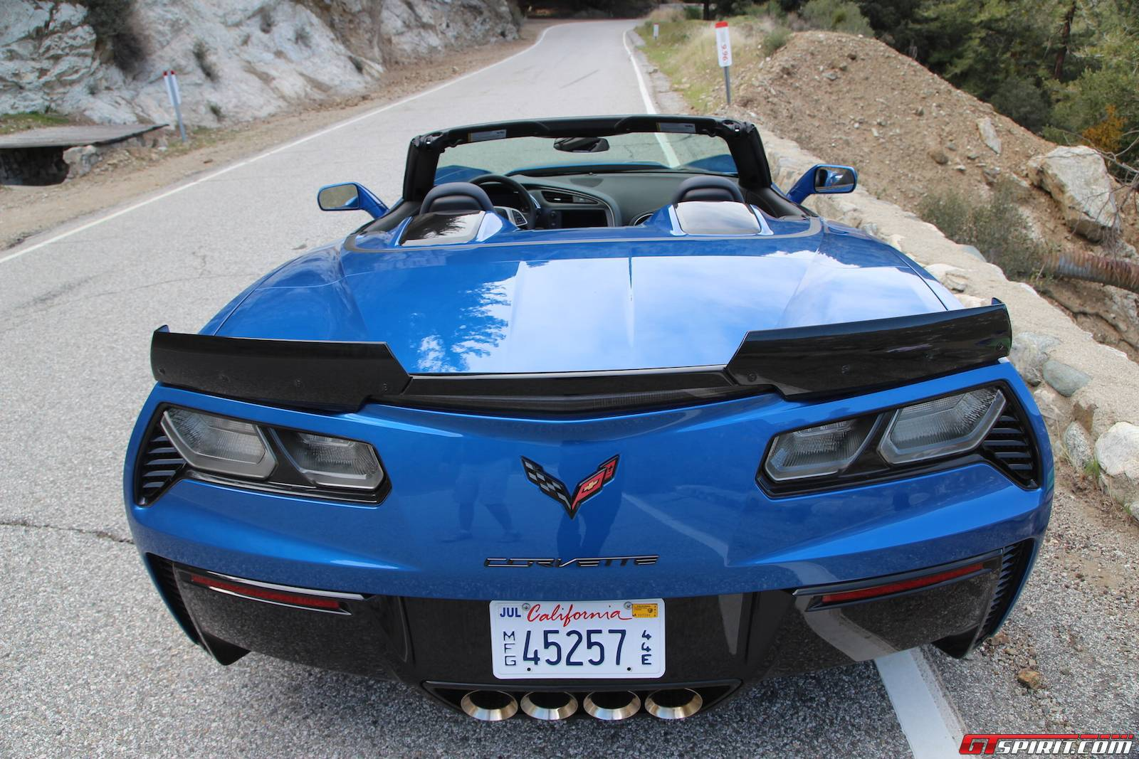 2019 Chevrolet Corvette Z06 Convertible photo - 3