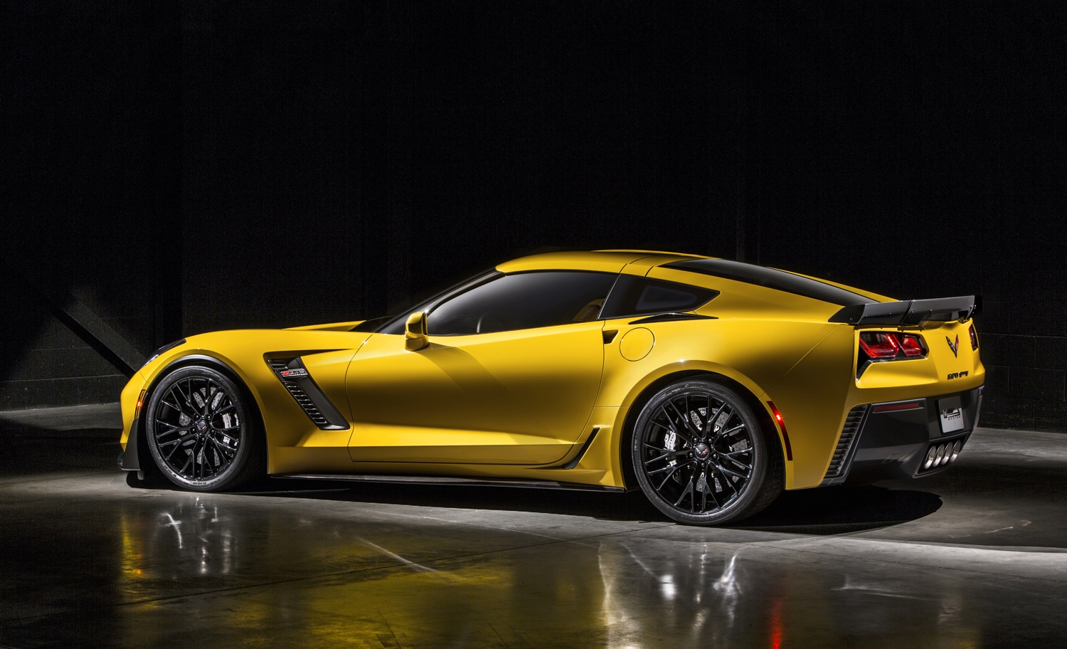 New Corvette Race Car