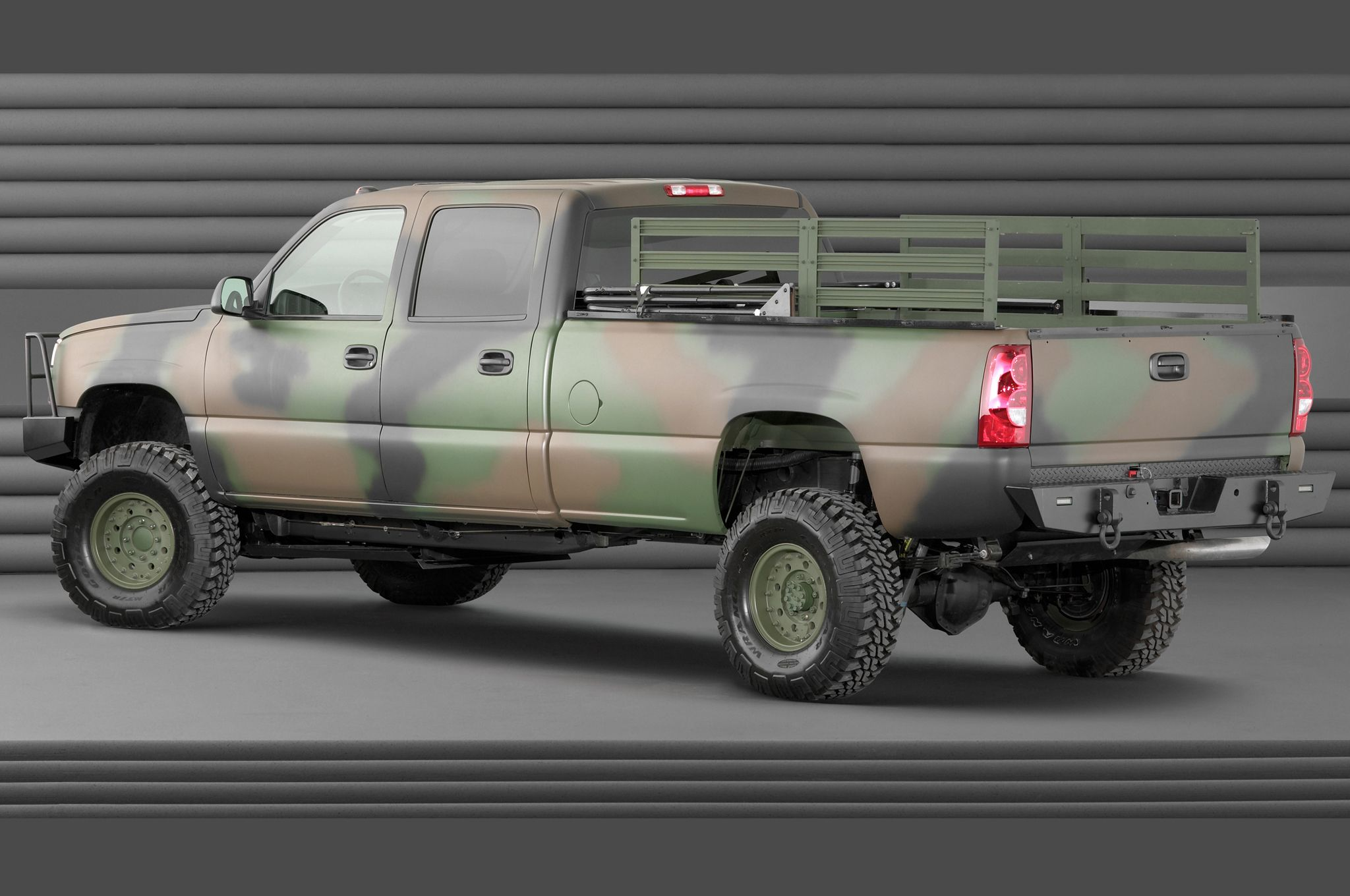 2019 Chevrolet Silverado Hydrogen Military Vehicle photo - 3