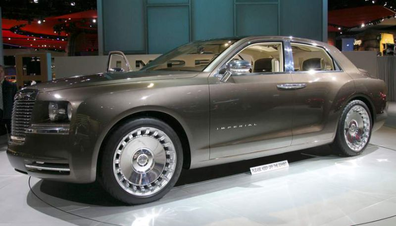 2019 Chrysler Imperial Concept Car Photos Catalog 2018