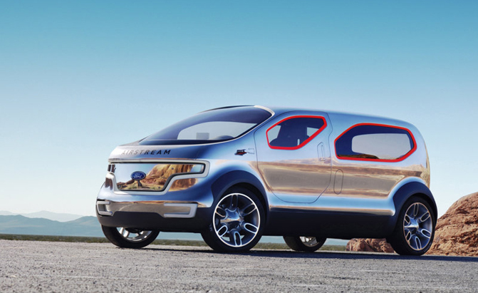 2019 Ford Airstream Concept photo - 2