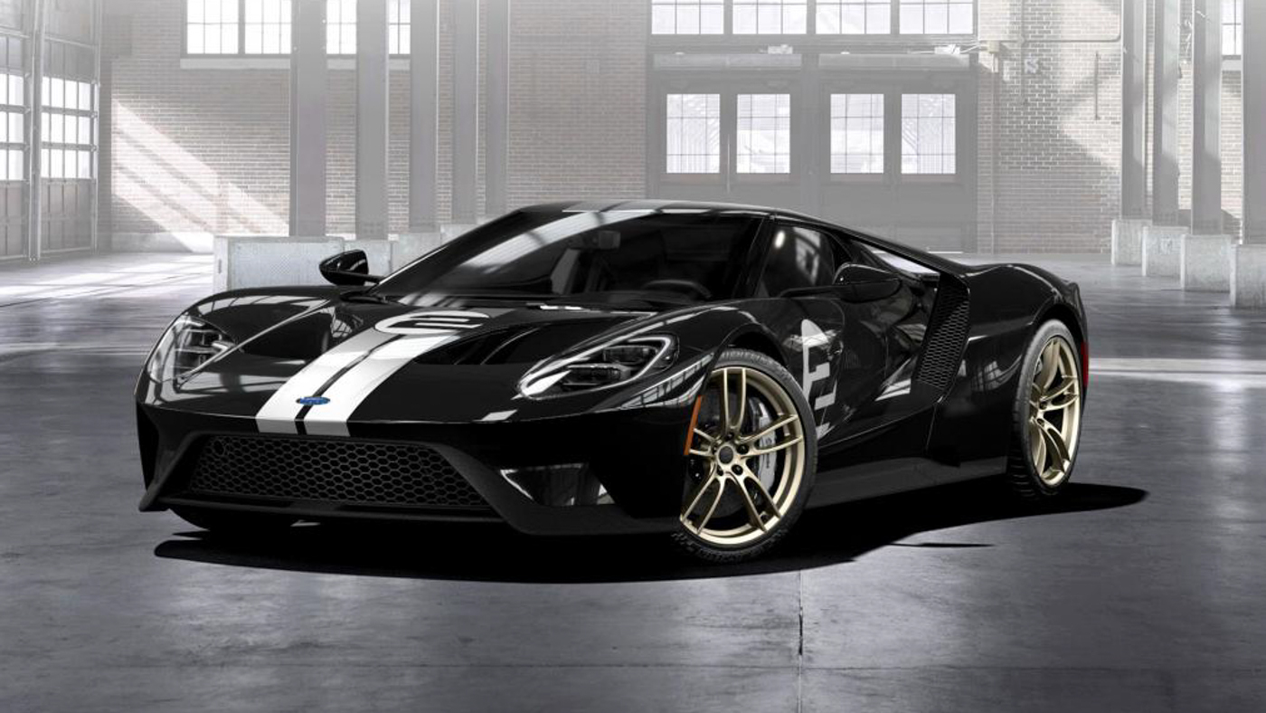 2019 Ford GT Heritage Limited Edition photo - 3