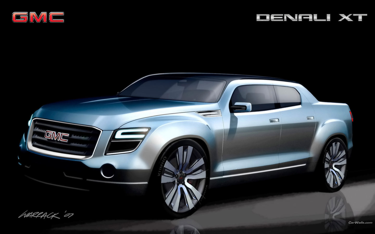 2019 GMC Denali XT Concept photo - 1