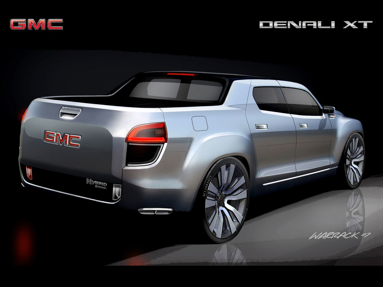 2019 GMC Denali XT Concept photo - 3