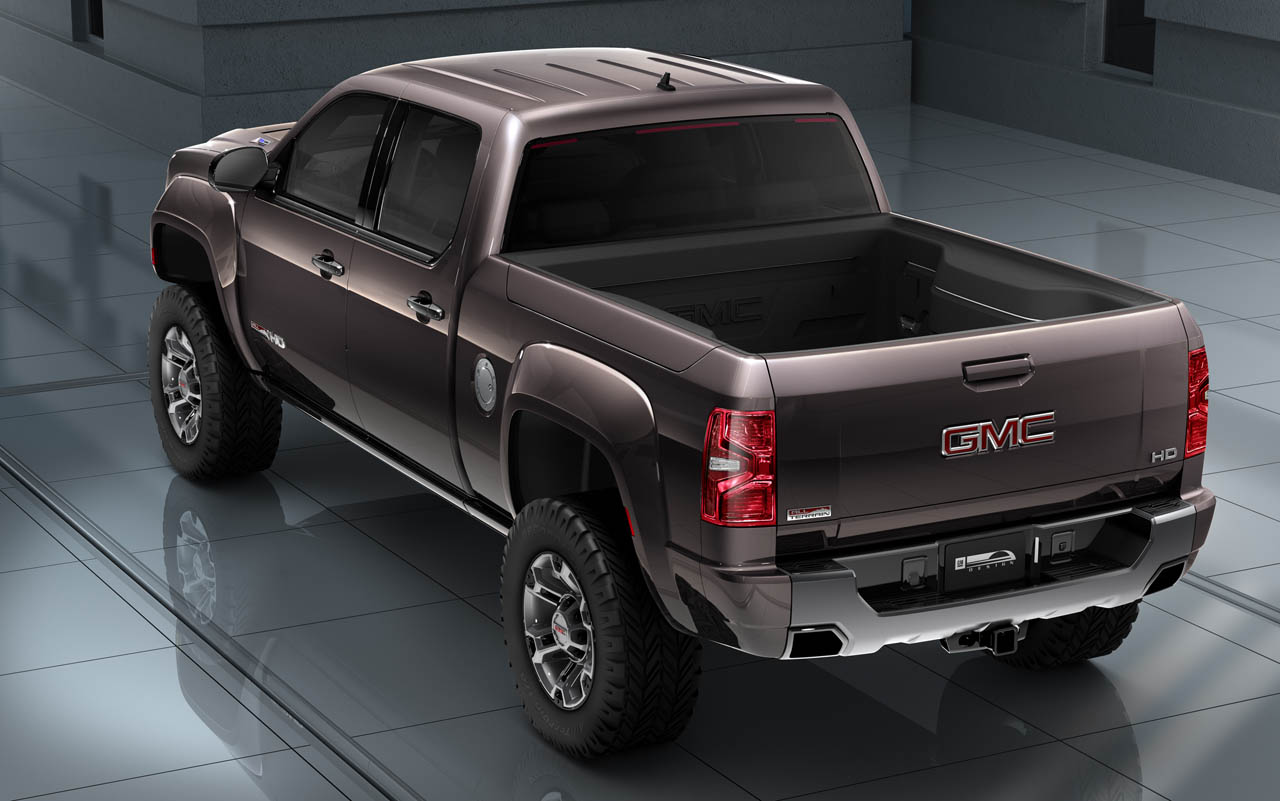 2019 GMC Sierra All Terrain HD photo - 3