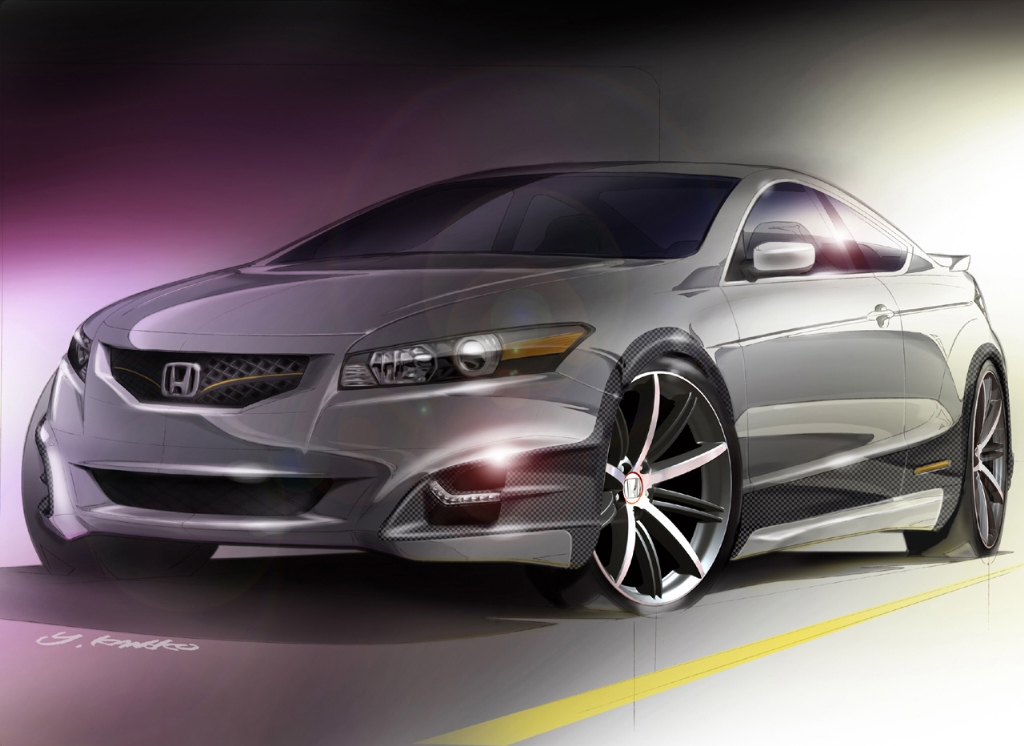 2019 Honda Accord Coupe Concept photo - 1
