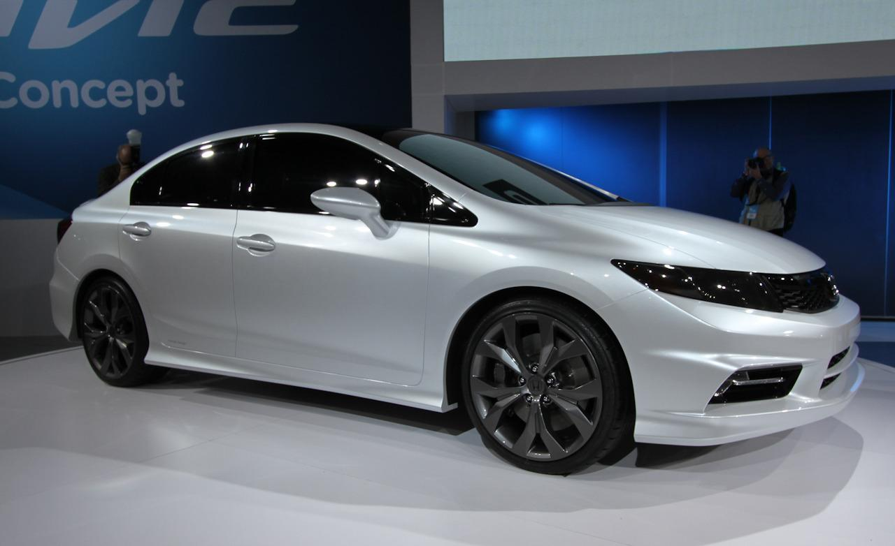 2019 Honda Civic Si Sedan Concept photo - 1