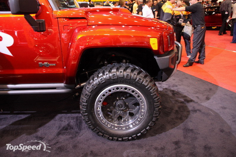 2019 Hummer H3R Off Road Concept photo - 4