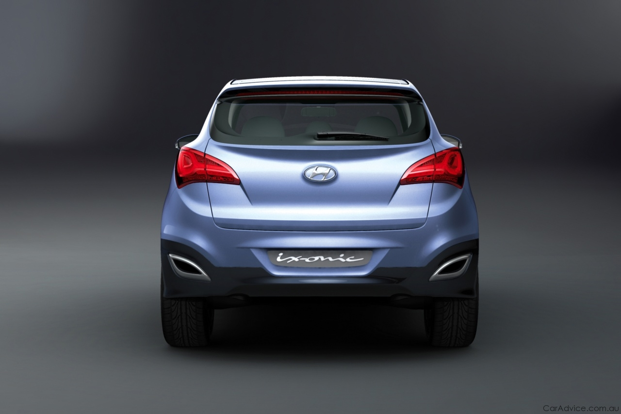 2019 Hyundai ix onic Concept photo - 4