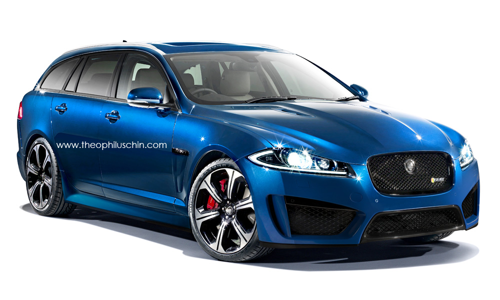 2019 Jaguar XFR S Sportbrake photo - 1