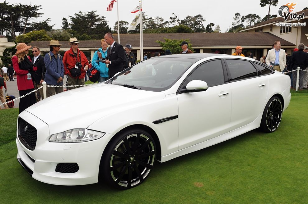 2019 Jaguar XJ75 Platinum Concept photo - 3