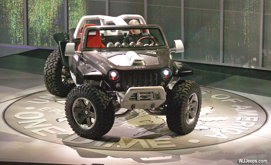 2019 Jeep Hurricane Concept photo - 1