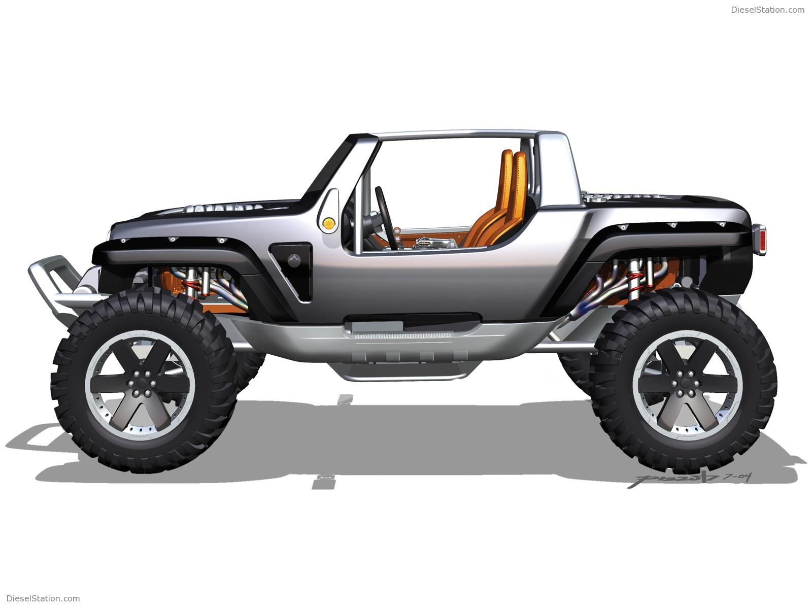 2019 Jeep Hurricane Concept photo - 3