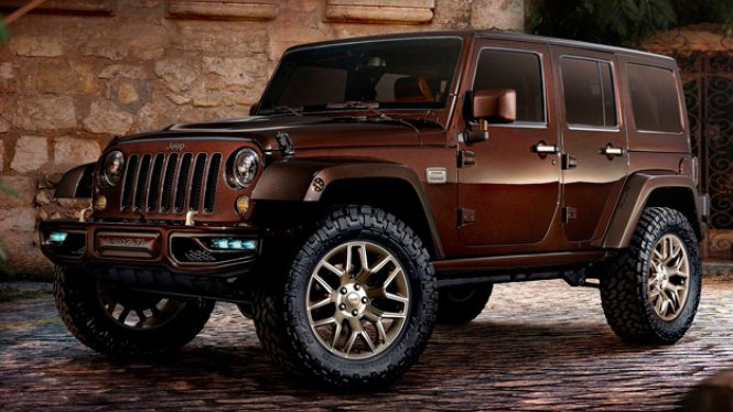 2019 Jeep Wrangler Sundancer Concept photo - 2