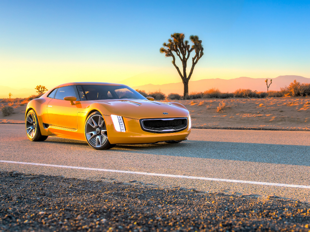 2019 Kia GT4 Stinger Concept photo - 1