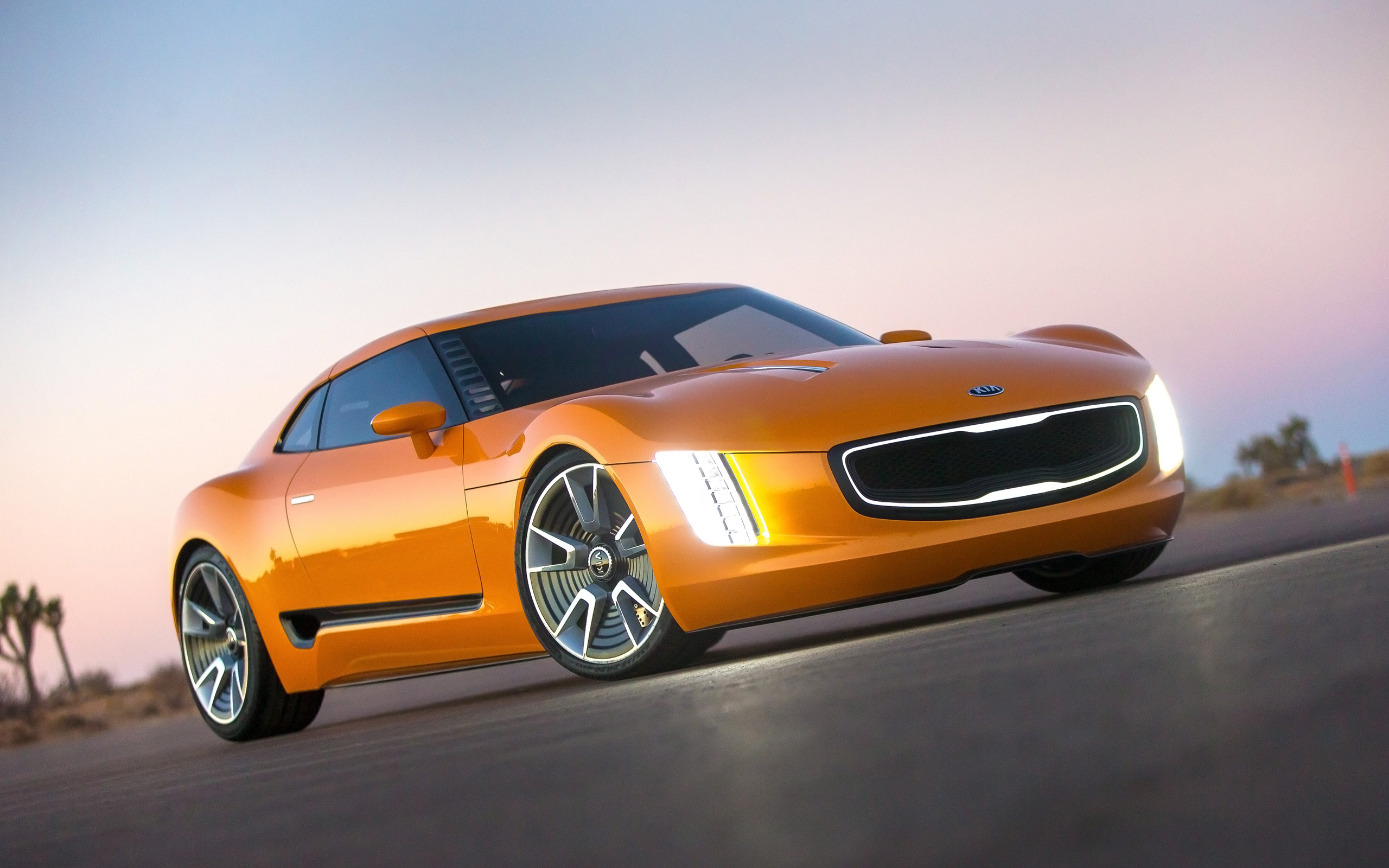 2019 Kia GT4 Stinger Concept photo - 3
