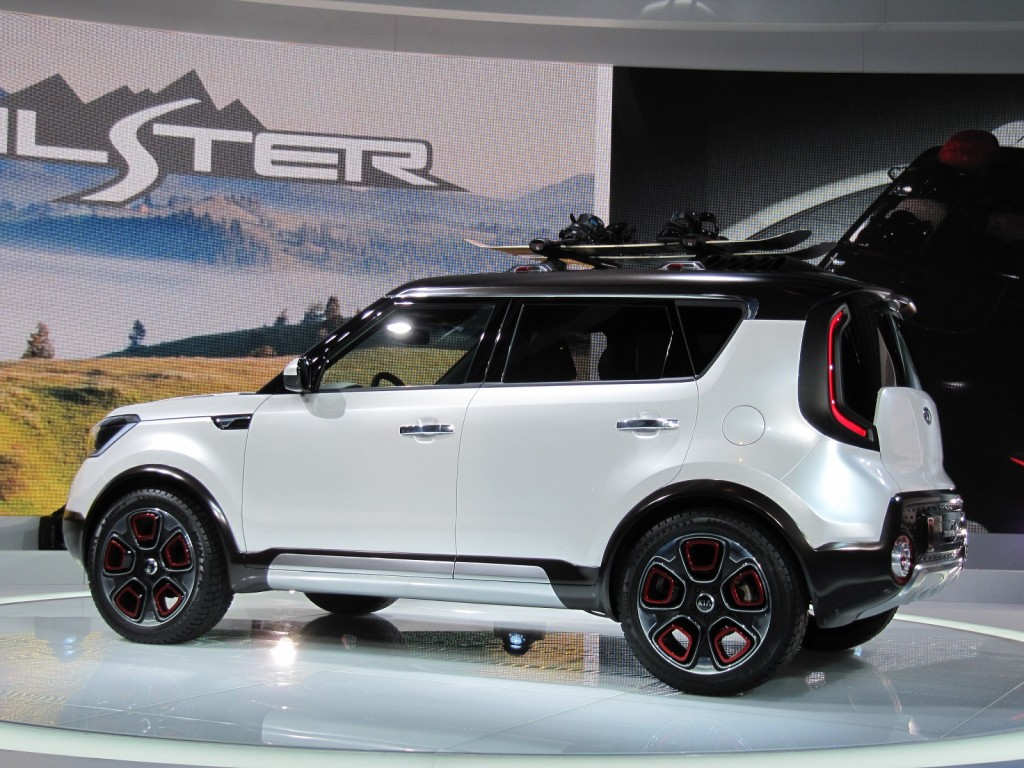 2019 Kia Trailster Concept photo - 1