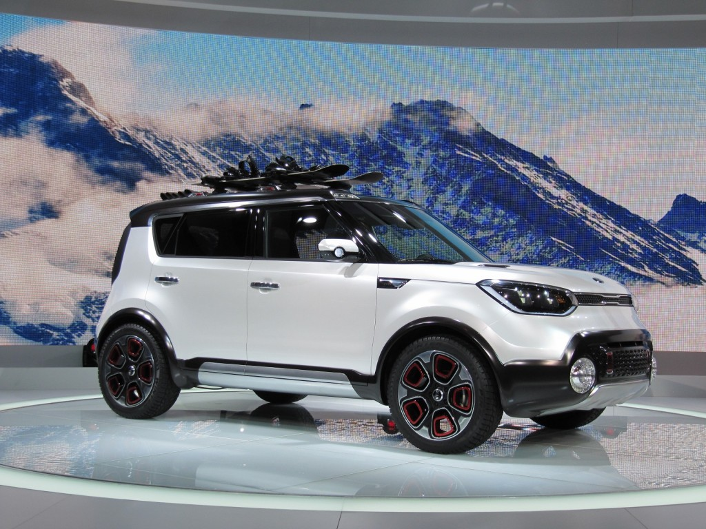 2019 Kia Trailster Concept photo - 2