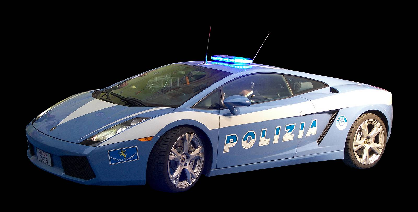 2019 Lamborghini Gallardo Police Car photo - 5