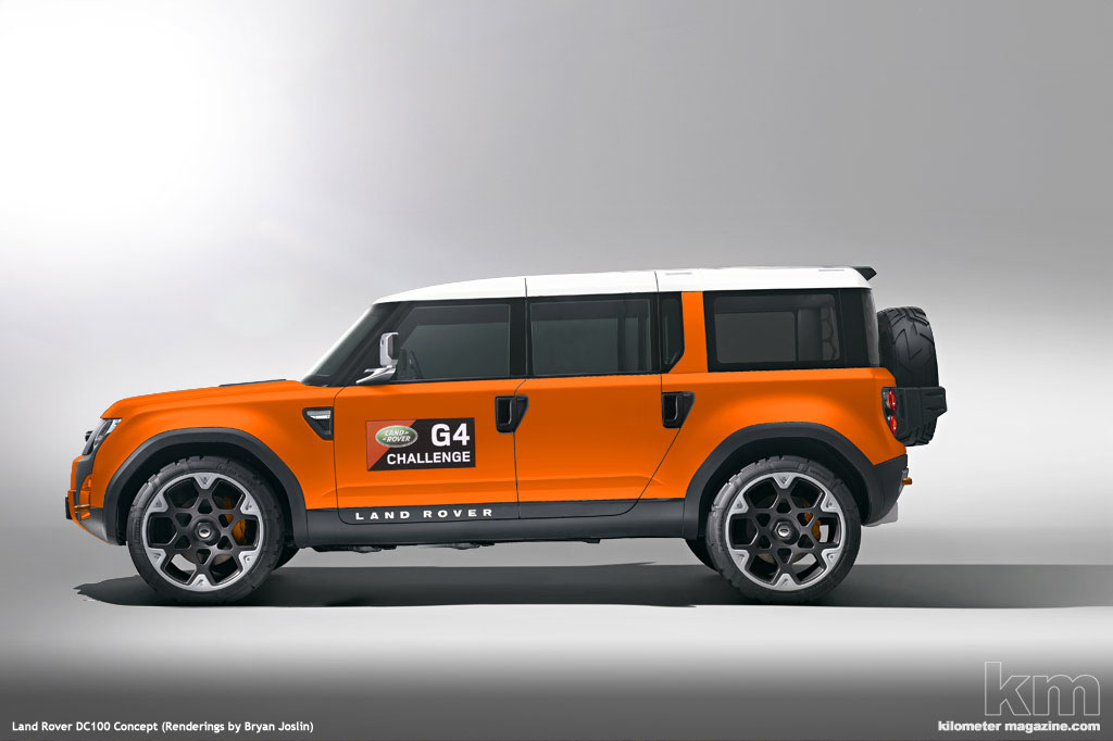 2019 Land Rover DC100 Concept photo - 2
