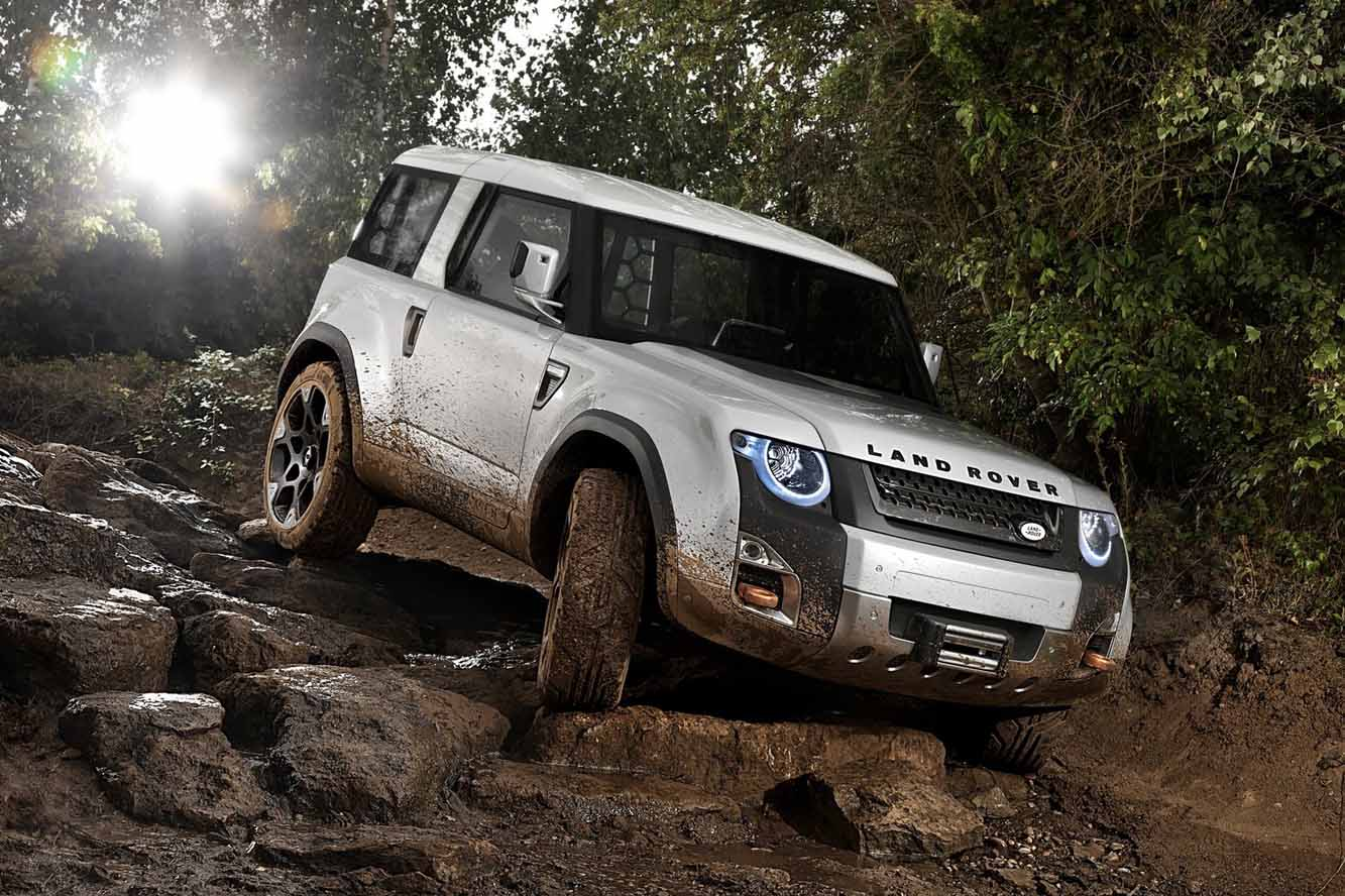2019 Land Rover DC100 Concept photo - 3