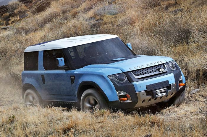 2019 Land Rover DC100 Concept photo - 4