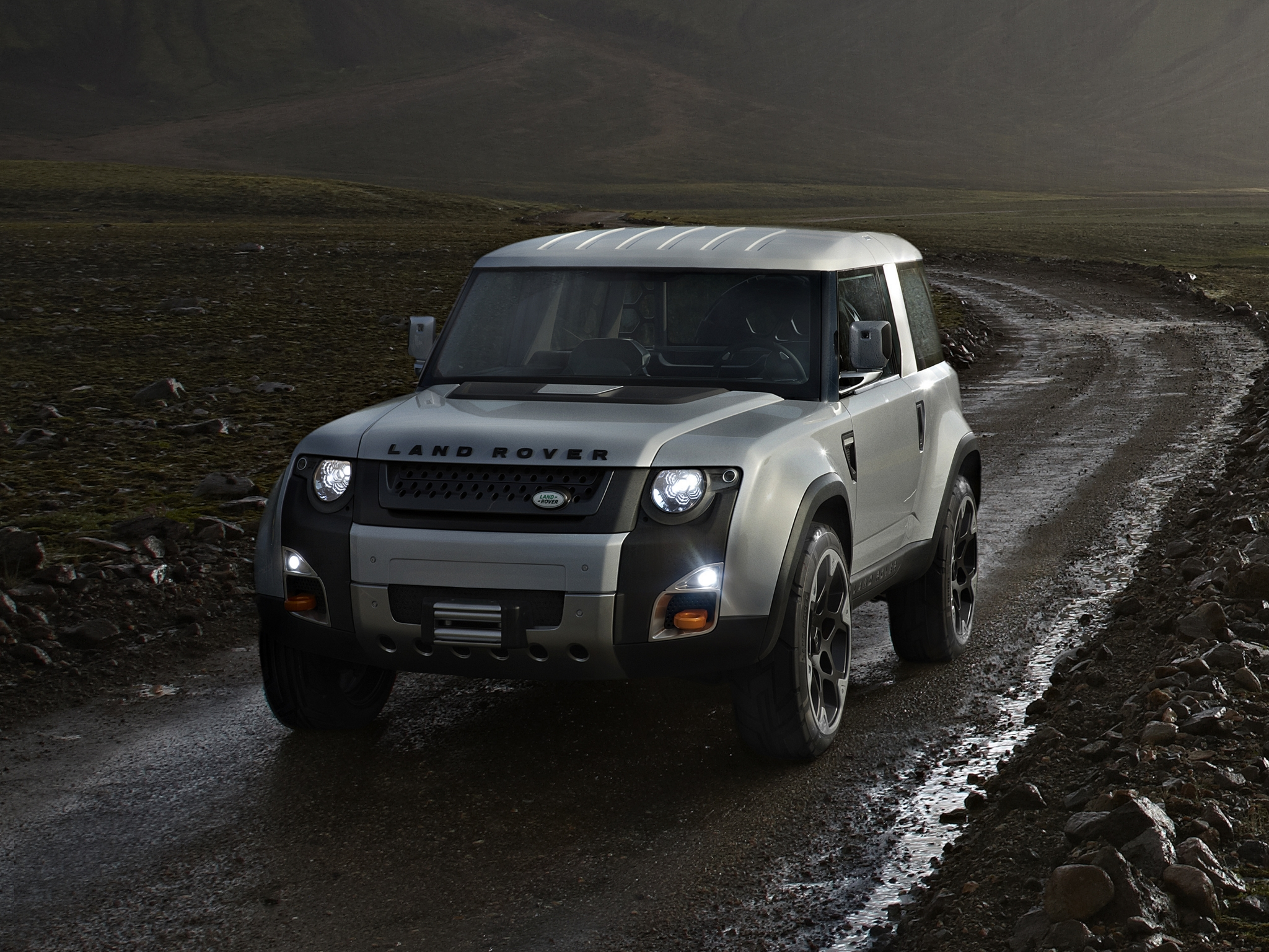 2019 Land Rover DC100 Concept photo - 5