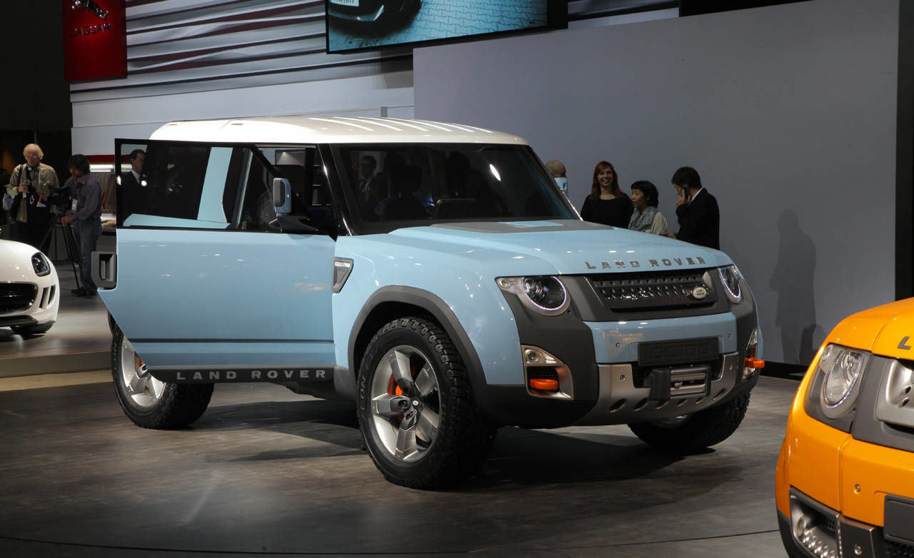 2019 Land Rover DC100 Concept photo - 6