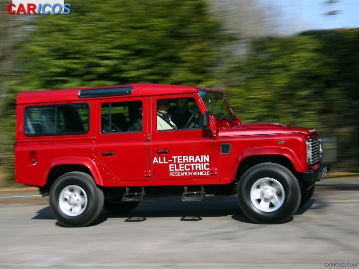 2019 Land Rover Defender Electric Concept photo - 2