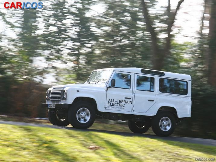 2019 Land Rover Defender Electric Concept photo - 3