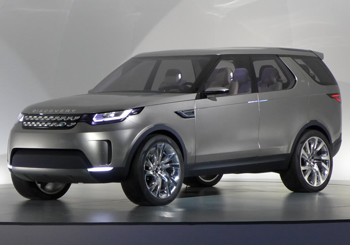 2019 Land Rover Discovery Vision Concept photo - 2