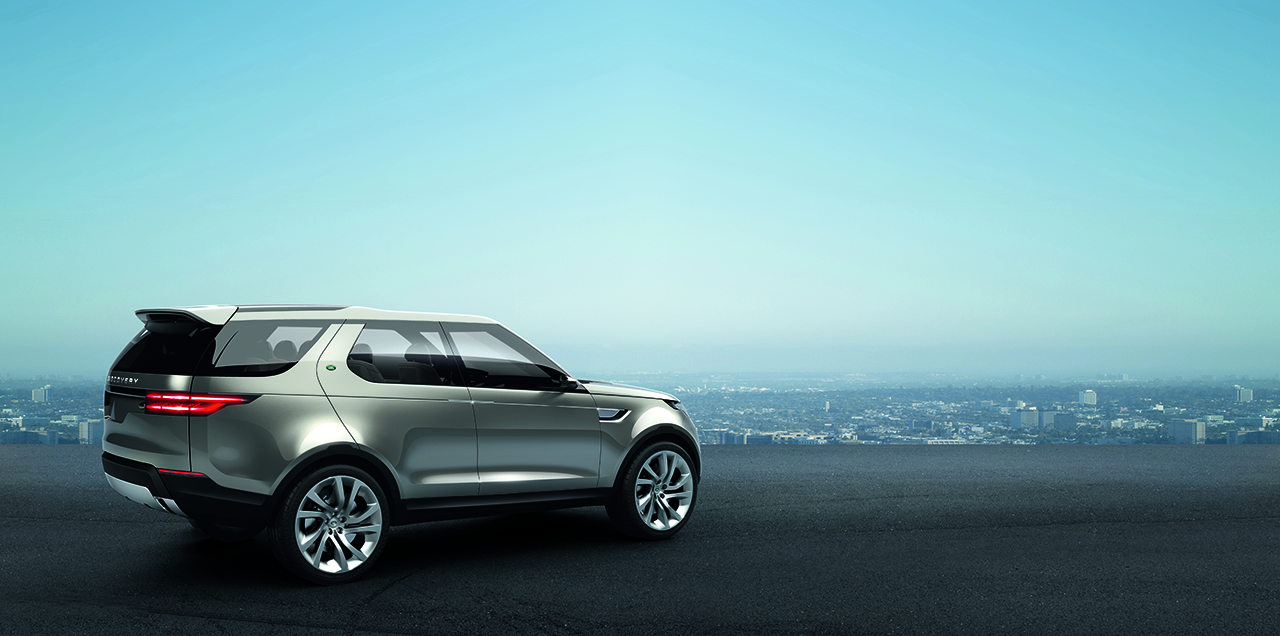 2019 Land Rover Discovery Vision Concept photo - 5