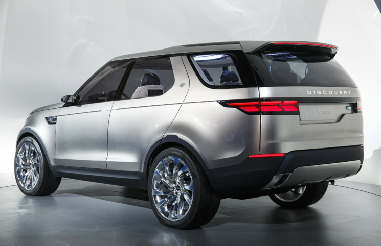 2019 Land Rover Discovery Vision Concept photo - 6