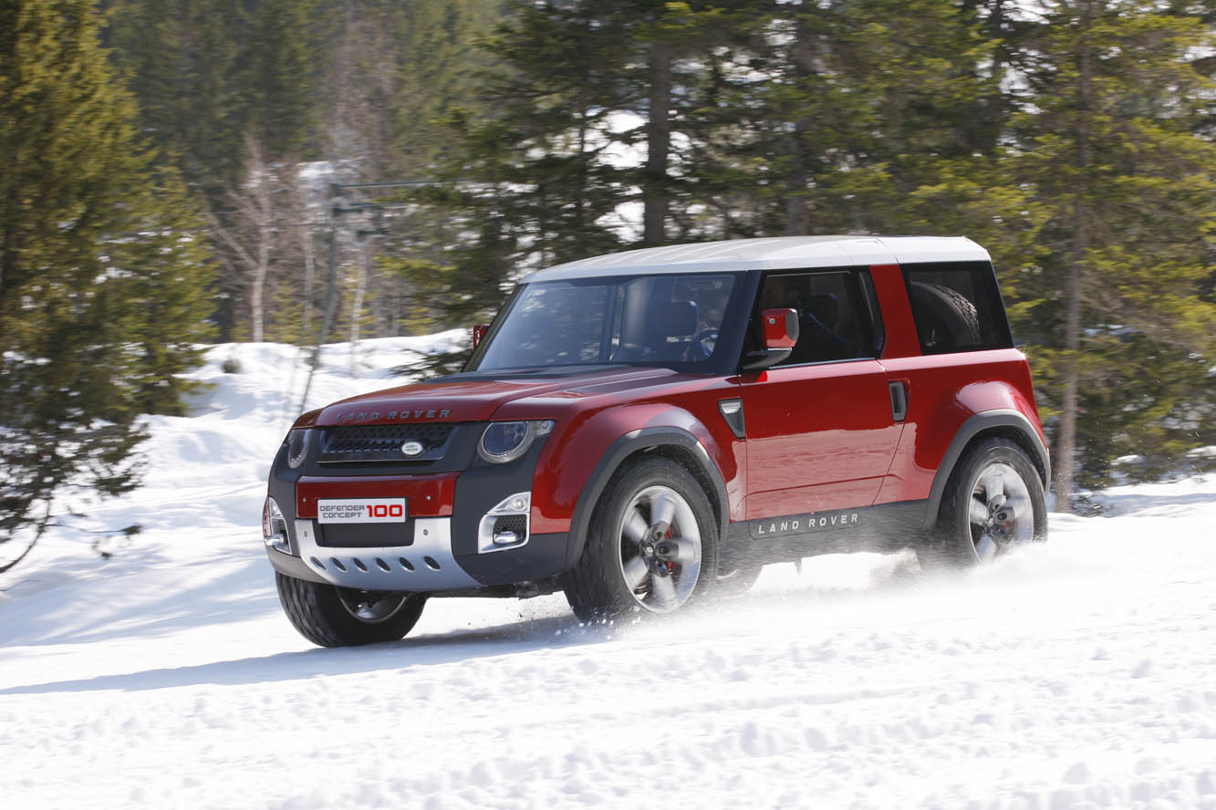 2019 Land Rover Land e Concept photo - 1