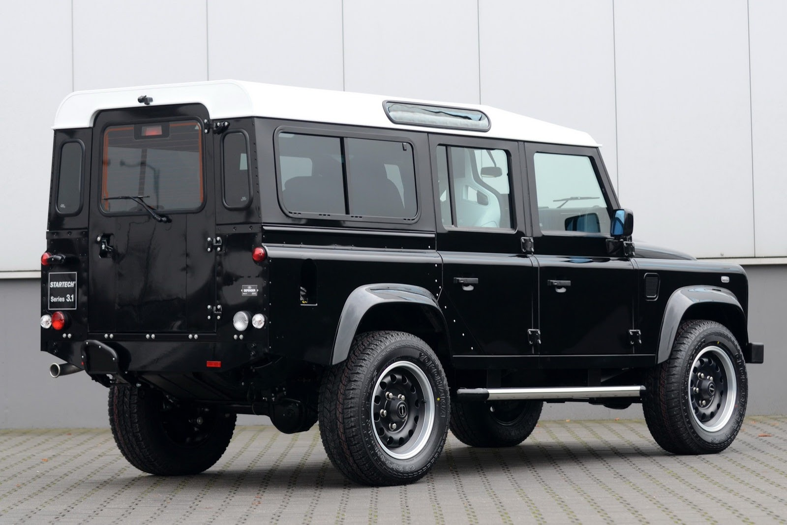 2019 Land Rover Land e Concept photo - 3