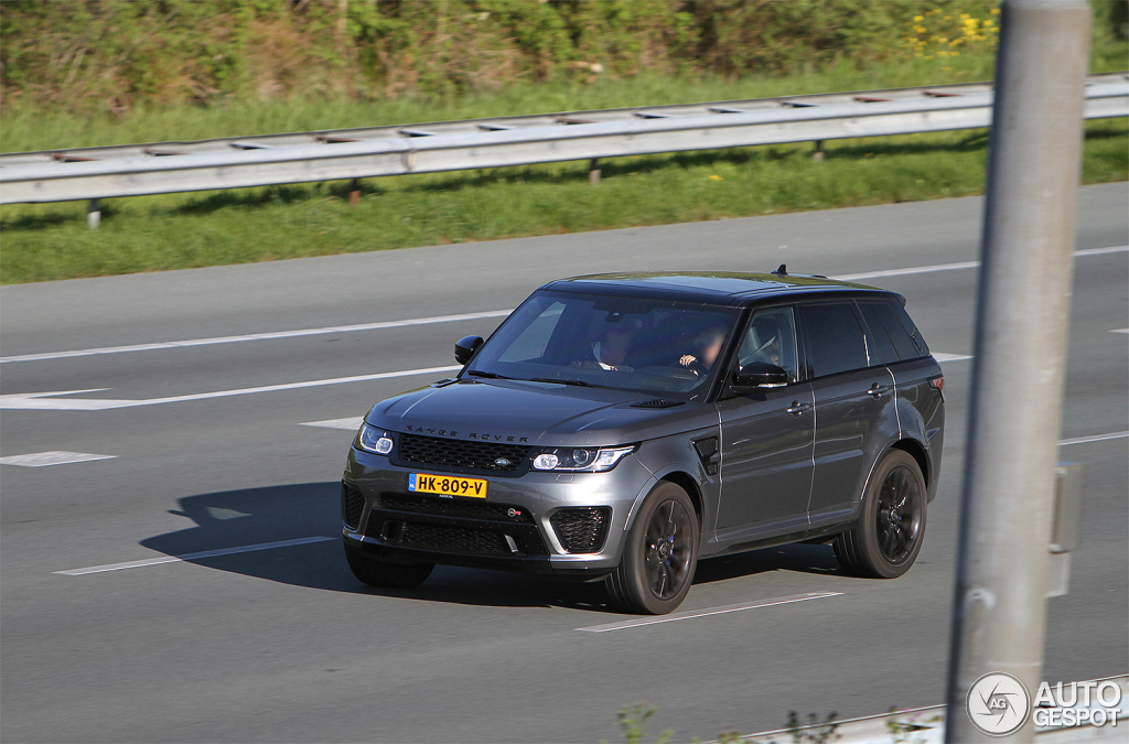 2019 Land Rover Range Rover Sport SVR photo - 2
