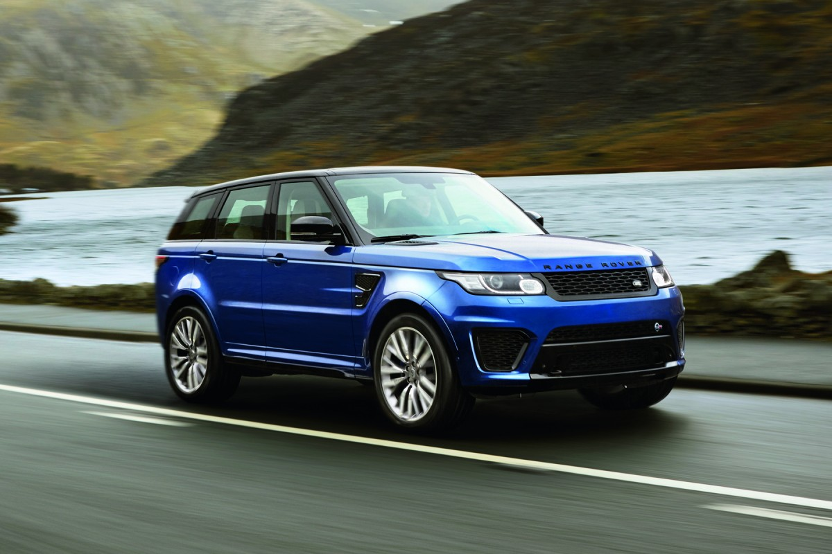 2019 Land Rover Range Rover Sport SVR photo - 4